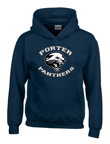 pullover hoodie navy blue Panther