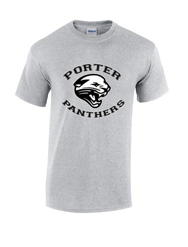 t-shirt gray Panther Porter